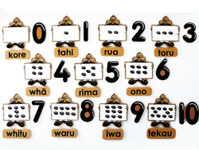 Counting Set - Maori 33pc