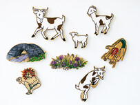 Billy Goats Gruff Magnetic