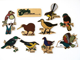 Birds of NZ Magnetics