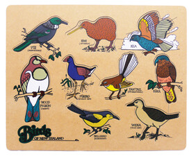 Birds of NZ puzzle