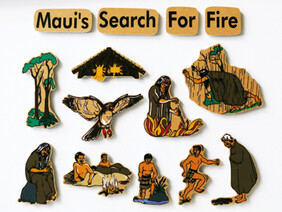 Maui's Search for Fire Magnetic