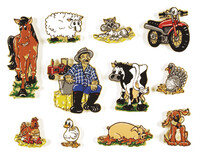 Old MacDonald Had a Farm Magnetic