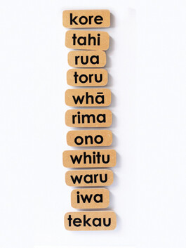 Counting Set 0-10 Maori 11pc
