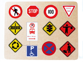Road Signs Puzzle