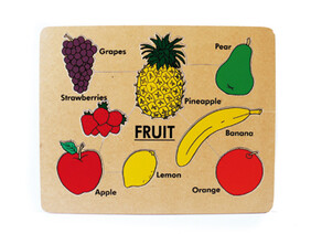 Fruit with Words - English Puzzles